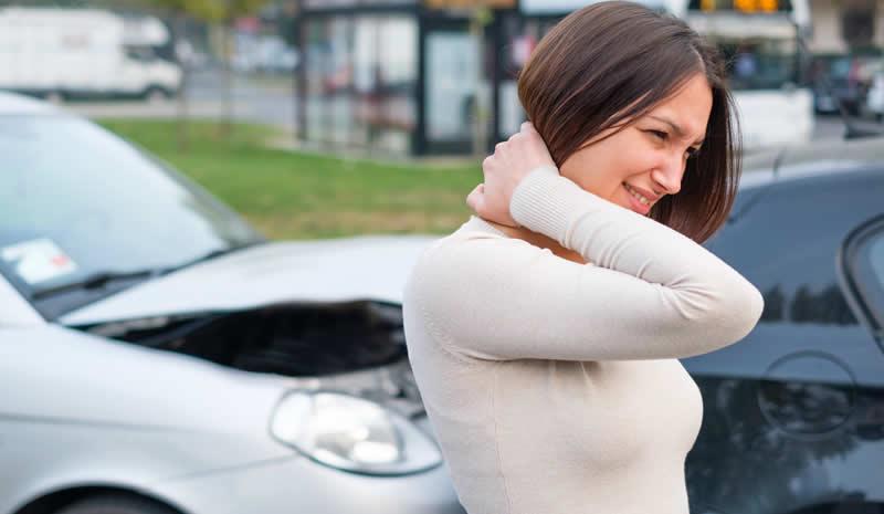 Compensación por accidente de auto en California