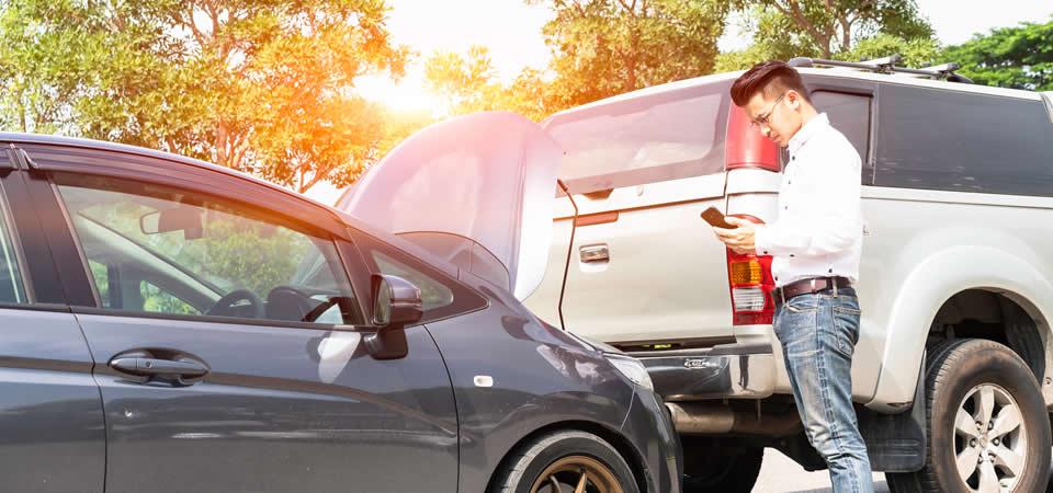 ¿Que debo hacer si me chocaron mi auto y me lastime?